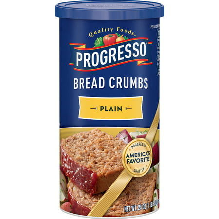 Plain Bread Crumbs - Progresso Plain Bread Crumbs, 24 oz Re-closeable container