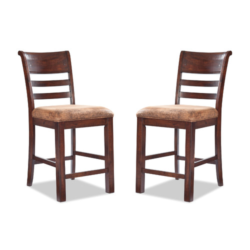 Imagio Home by Intercon Bench Creek Bar Stool (Set of 2) by