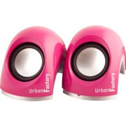 Urban Factory 3W Crazy Speakers 2.0, Pink