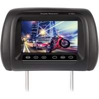 """Power Acoustik H-78CC 7"""" LCD Universal Replacement Headrest Monitor With IR Transmitter & 3 Interchangeable Color Skins"""