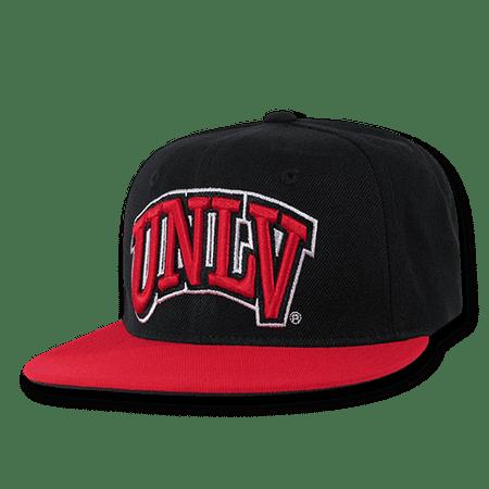 0b6c39c60 NCAA UNLV University Nevada Las Vegas Snapback Baseball Caps Hat Black Red  Bill - Walmart.com