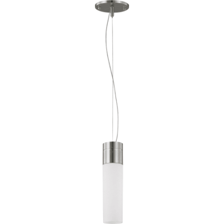 Nuvo Link 60/2932 1-Light Tube Pendant - 2.75W in. - Brushed