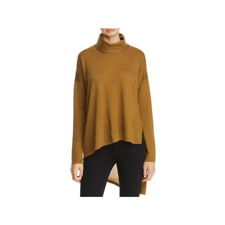 Eileen Fisher Womens Asymmetrical High-Low Tunic Sweater ()