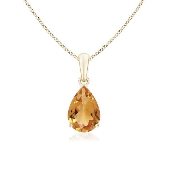 Boho Sterling Silver Pendant Gemstone Pendant Citrine Pendant Citrine Pendant Necklace Citrine Jewelry November Birthstone Pendant