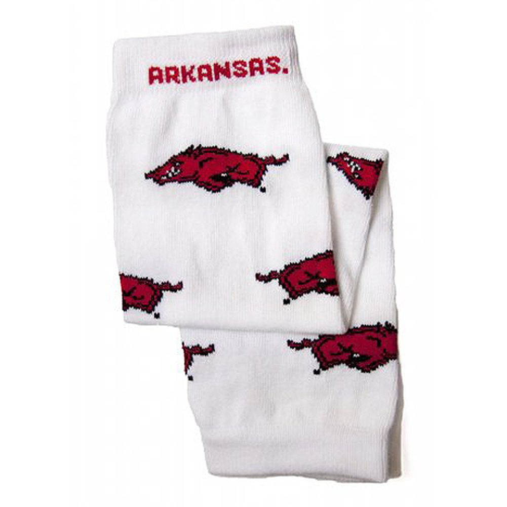 Little Big Fan Kids Junior University Of Arkansas Leg Warmers