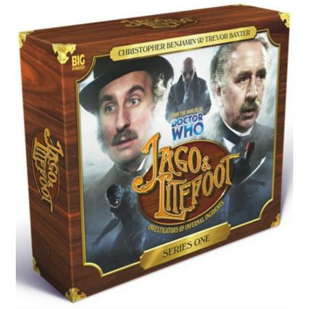 Jago & Litefoot Series 1 Box Set CD (Audio CD)