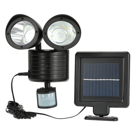 Motion Detector Spotlight (iMeshbean Dual Security Detector Solar Motion Sensor Spot Light Outdoor 22 LED Floodlight )