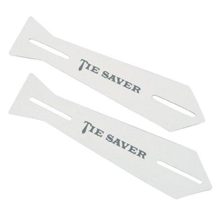 Tie Saver White 2 pack - Graduation Socks