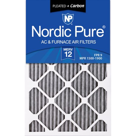 12x24x1 11 1 2x23 1 2 Furnace Air Filters MERV 12 Pleated Plus Carbon