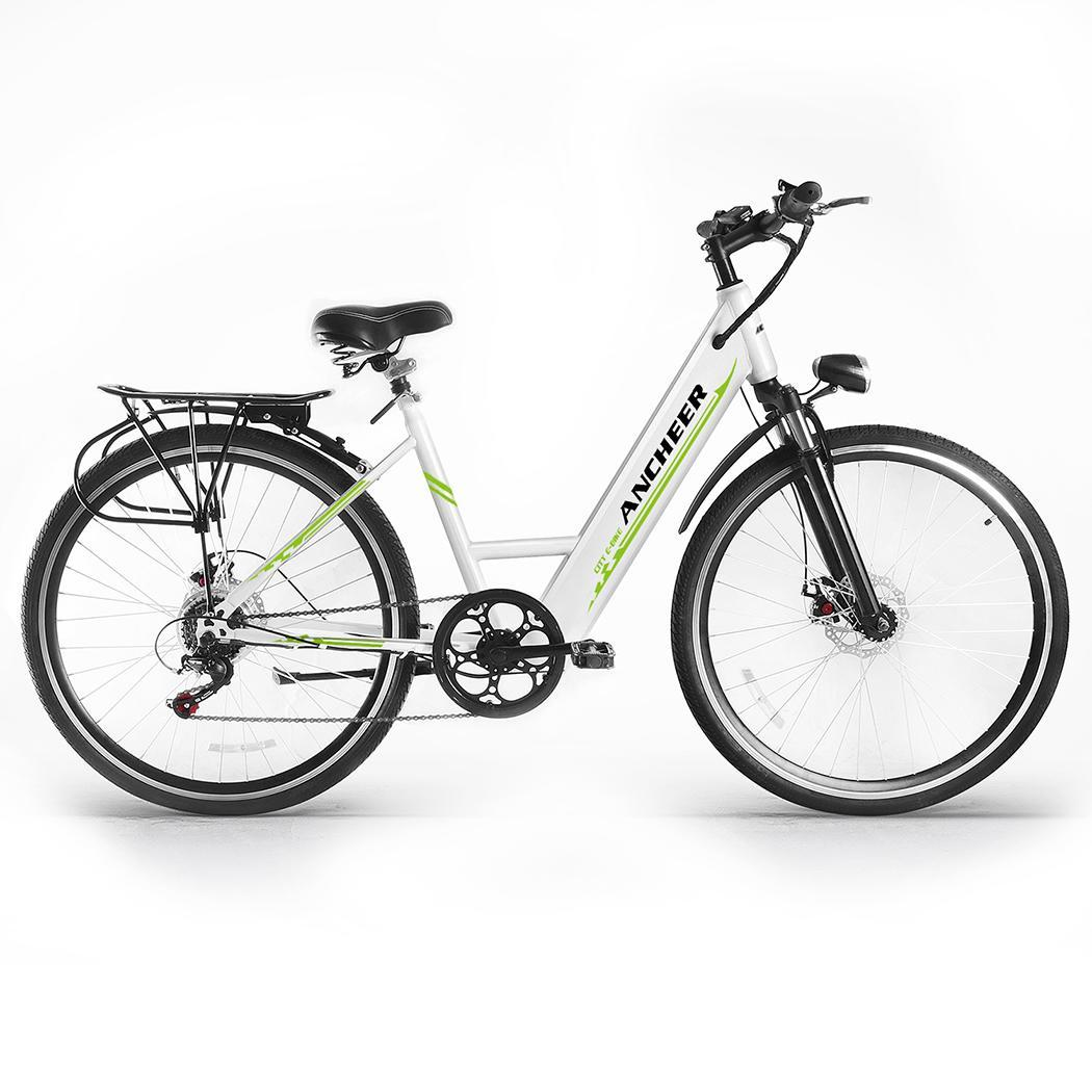 Outdoor E-Bike Bicycle Electric Mountain Bike with Collapsible Frame and Handlebar Display by
