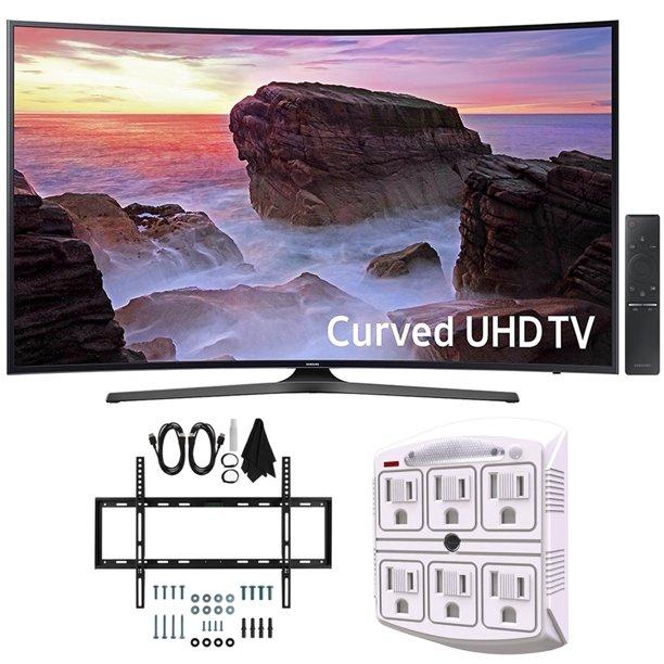 Samsung Un65mu6500 Curved 65 Quot 4k Ultra Hd Smart Led Tv