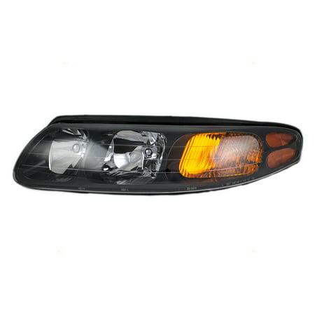 BROCK Headlight Headlamp Lens Driver Replacement for 00-04 Pontiac Bonneville 25718687 19245099