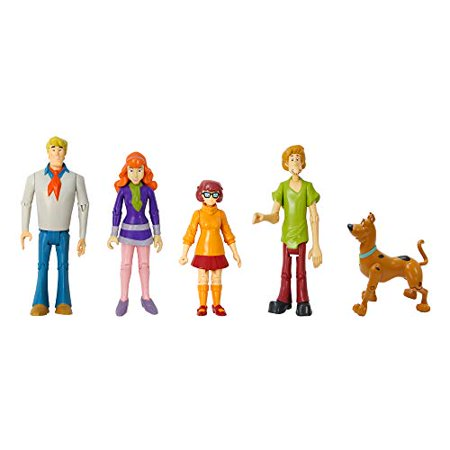 Scooby Doo ScoobyDoo Mystery Mates Figure 5-Pack Mystery Solving Crew Set