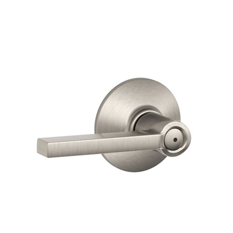 Schlage F40VLAT619 Satin Nickel Latitude Style Privacy Lever