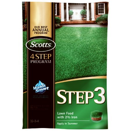 Lawn Pro Step 3 Lawn Fertilizer With 2% Iron, 32-0-4, 5,000-Sq  Ft  Coverage