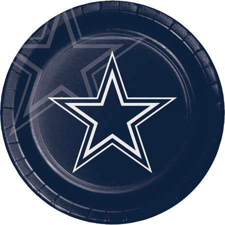 Creative Converting Dallas Cowboys Paper Plates, 8 ct