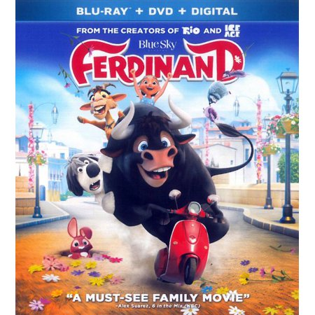 Ferdinand (Blu-ray + DVD + Digital) - Us Halloween 2017