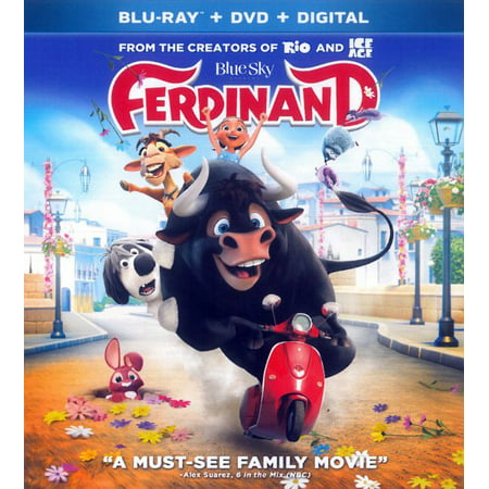 Ferdinand (Blu-ray + DVD + Digital) - Bones Halloween Mix 2017