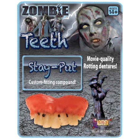 Rotted Teeth - Halloween Fish Makeup Tutorial