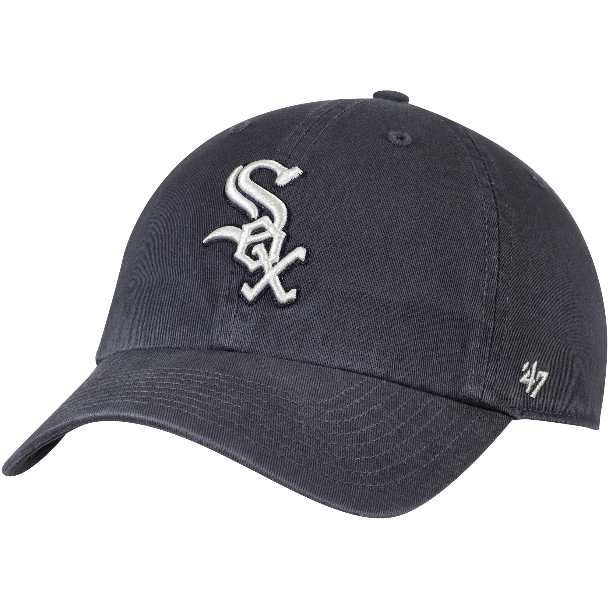 Chicago White Sox '47 Vintage Clean Up Adjustable Hat - Gray - OSFA