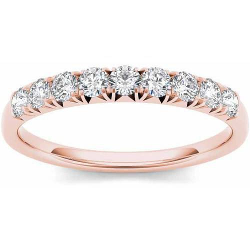 Imperial 3 8 Carat T.W. Diamond 14kt Rose Gold Wedding Band by Imperial Jewels