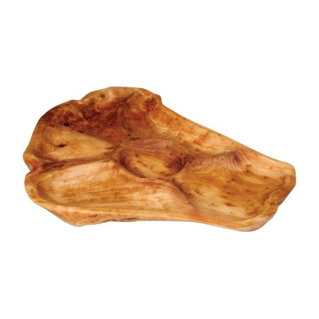 Shell Appetizer - Enrico Root Wood Large Appetizer Platter
