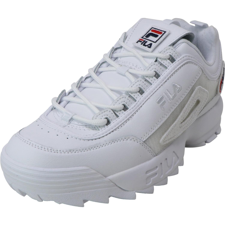 Fila Fila Women's Disruptor II Patches White Ankle High Walking 11M