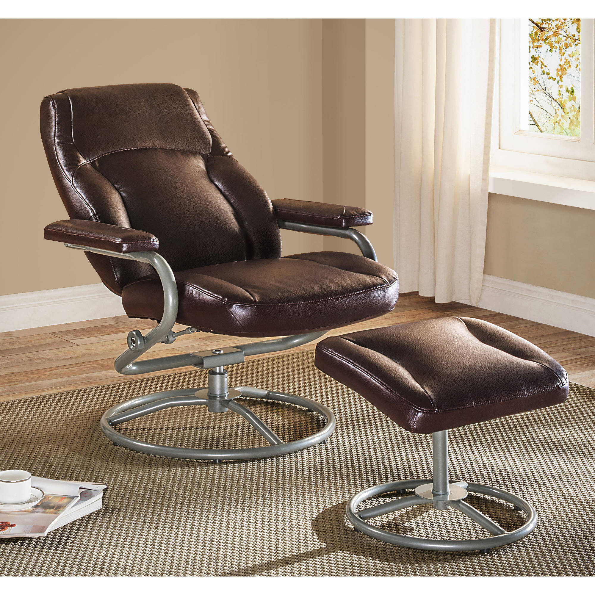 regarding leather recliner ottoman with lane ideas remodel chair simple home on small and