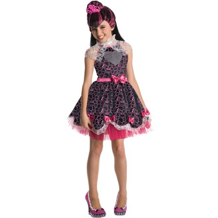 Kids Draculaura Costume (Monster High Deluxe Draculaura Sweet 1600 Child)