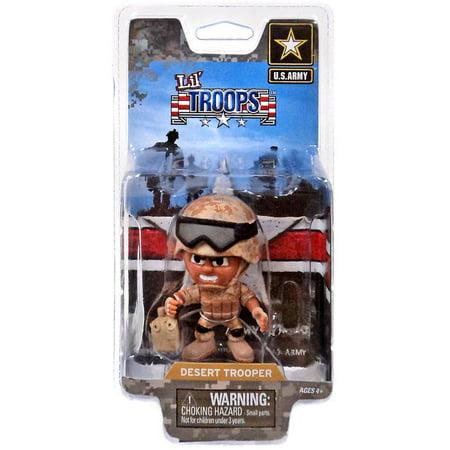 Animal Trooper Trapper (Lil' Troops U.S. Army Desert Trooper Action)