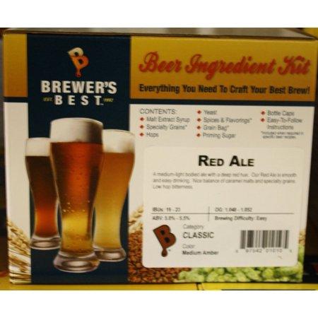 Red Ale Homebrew Beer Ingredient Kit by Brewer's Best