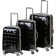 Rockland Luggage Celebrity 3 Piece Spinner Polycarbonate Luggage Set, Multiple Colors