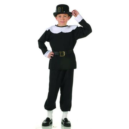 3pc. Pilgrim Boy Costume - Pilgrim Boy