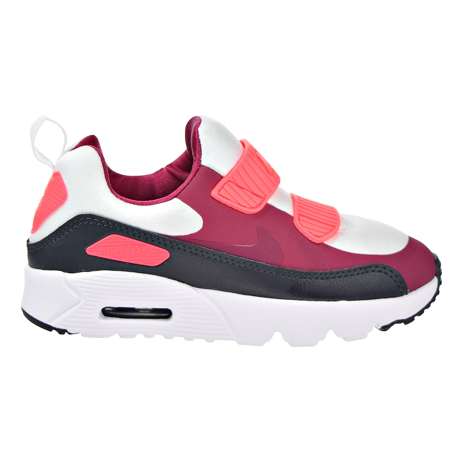 Nike - Nike Air Max Tiny 90 (PS) Preschool Shoes White/Noble Red/Anthracite 881927-101 - Walmart.com