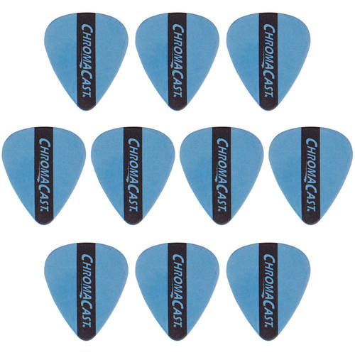ChromaCast Dura Pick Guitar Pick, 10 Pack, Yellow