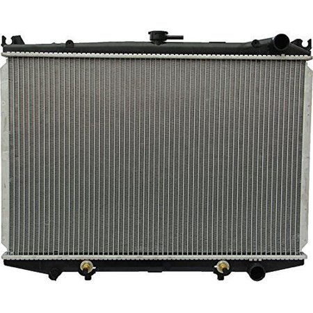 Radiator - Pacific Best Inc For/Fit 145 86-97 Nissan Hardbody 87-95 Pathfinder Automatic Transmission 4/6Cy