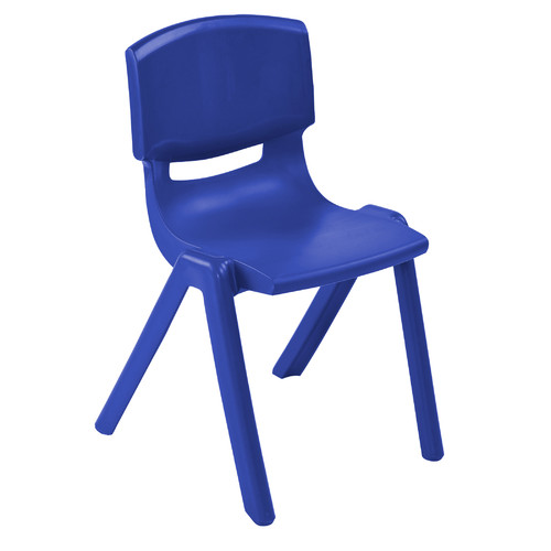 ECR4Kids Resin Classroom Stacking Chair (Set of 4)