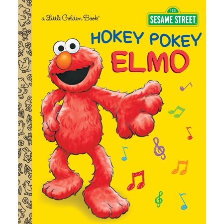 Hokey Pokey Elmo (Sesame Street) (Hardcover) (Sesame Street Halloween Songs)