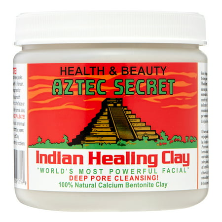 Aztec Secret Indian Healing Clay Deep Pore Cleansing, 1 Pound (Indian Red Clay)