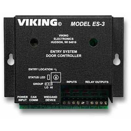 Viking Entry (Viking ES-3 Entry System Door Controller For Aes)
