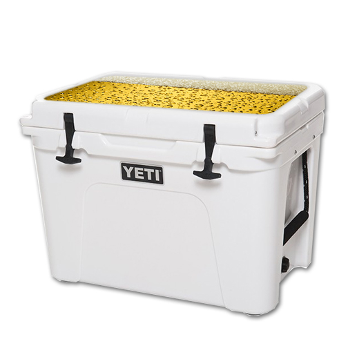 MightySkins Protective Vinyl Skin Decal for YETI Tundra 50 qt Cooler Lid wrap cover sticker skins Beer Buzz