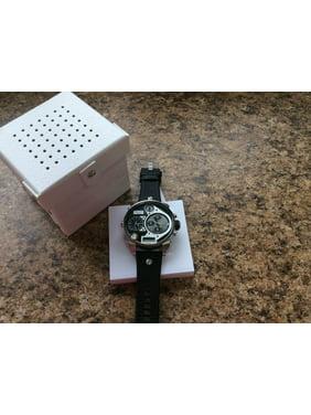 Diesel Men's Silver Analog/Digital Watch DZ7125