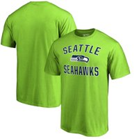Seattle Seahawks NFL Pro Line by Fanatics Branded Victory Arch T-Shirt - Neon Green