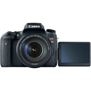 Canon Black EOS Rebel T6s Digital SLR Camera with 24 2 Megapixels and  18-135mm Lens Included