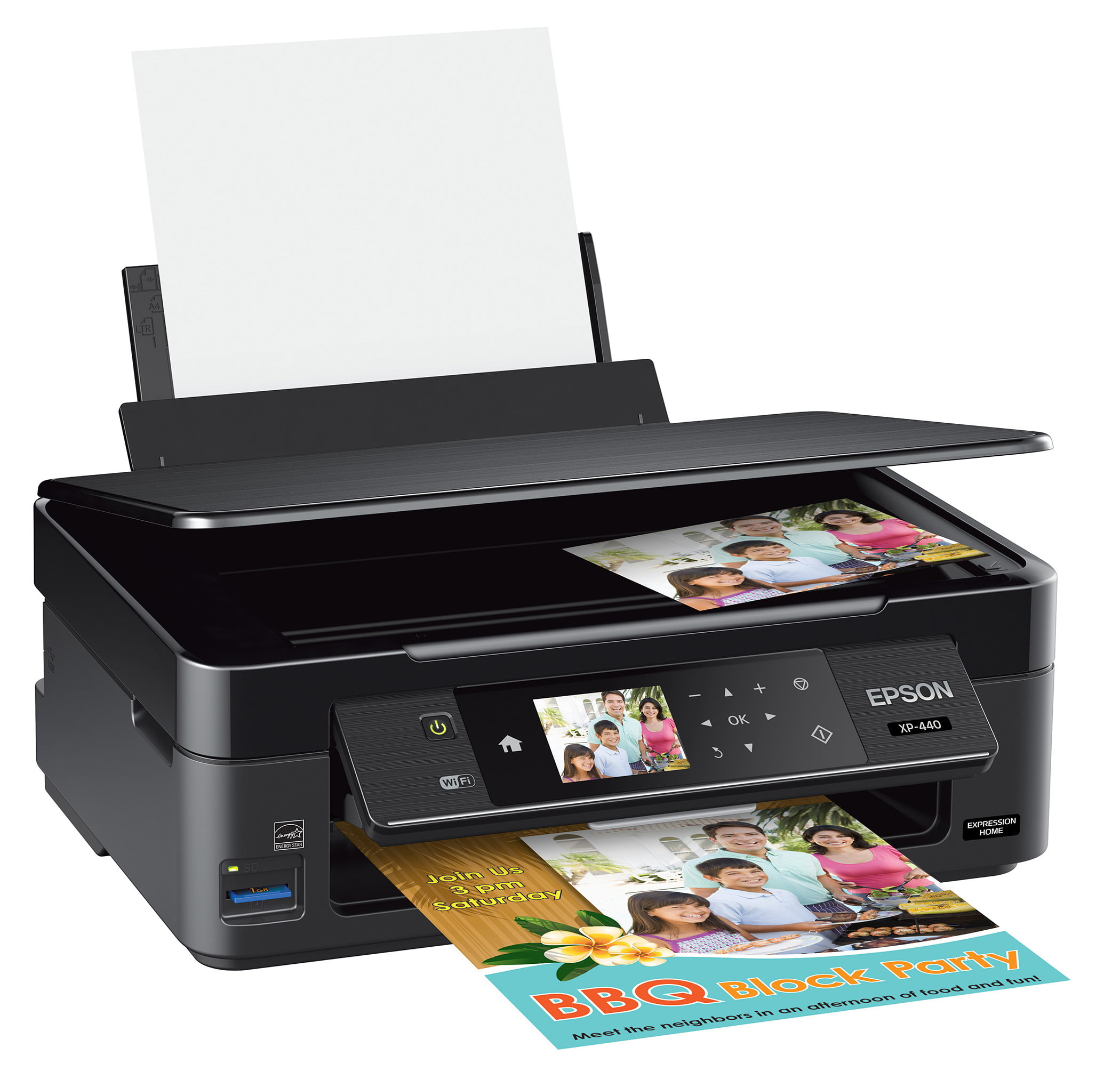Epson Expression Home XP-440 Inkjet Multifunction Printer Color Plain Paper Print Desktop by Epson