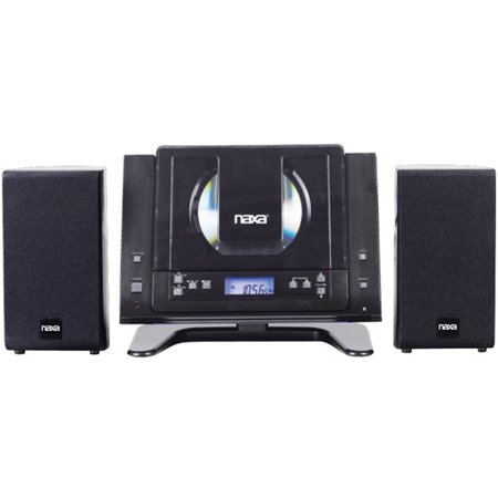 Naxa NSM437 Digital MP3/CD Micro System with AM/FM Radio