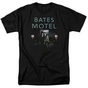 Bates Motel Motel Room Mens Short Sleeve Shirt