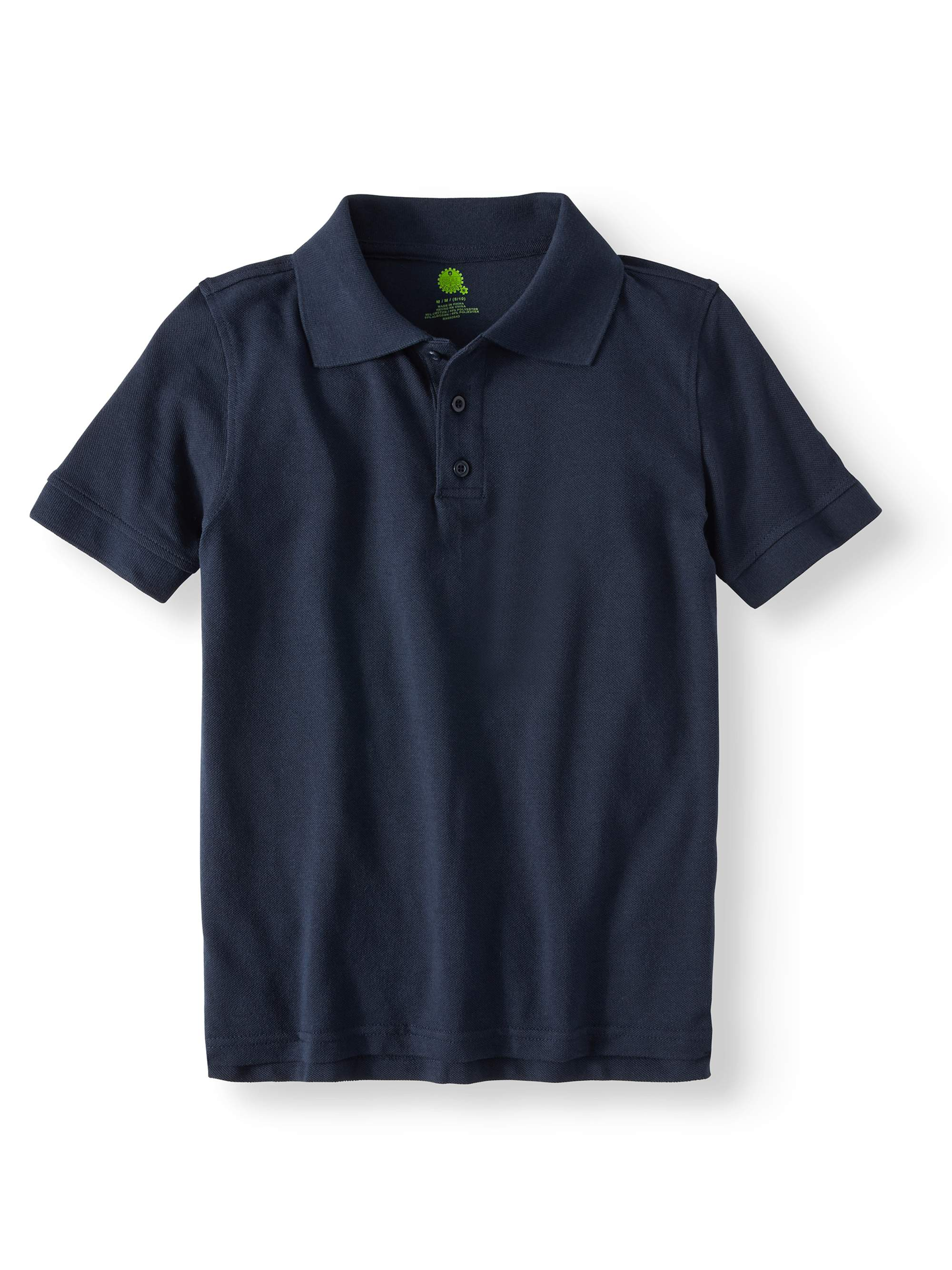Boys Short Sleeve Pique Polo Shirt School Uniform Approved