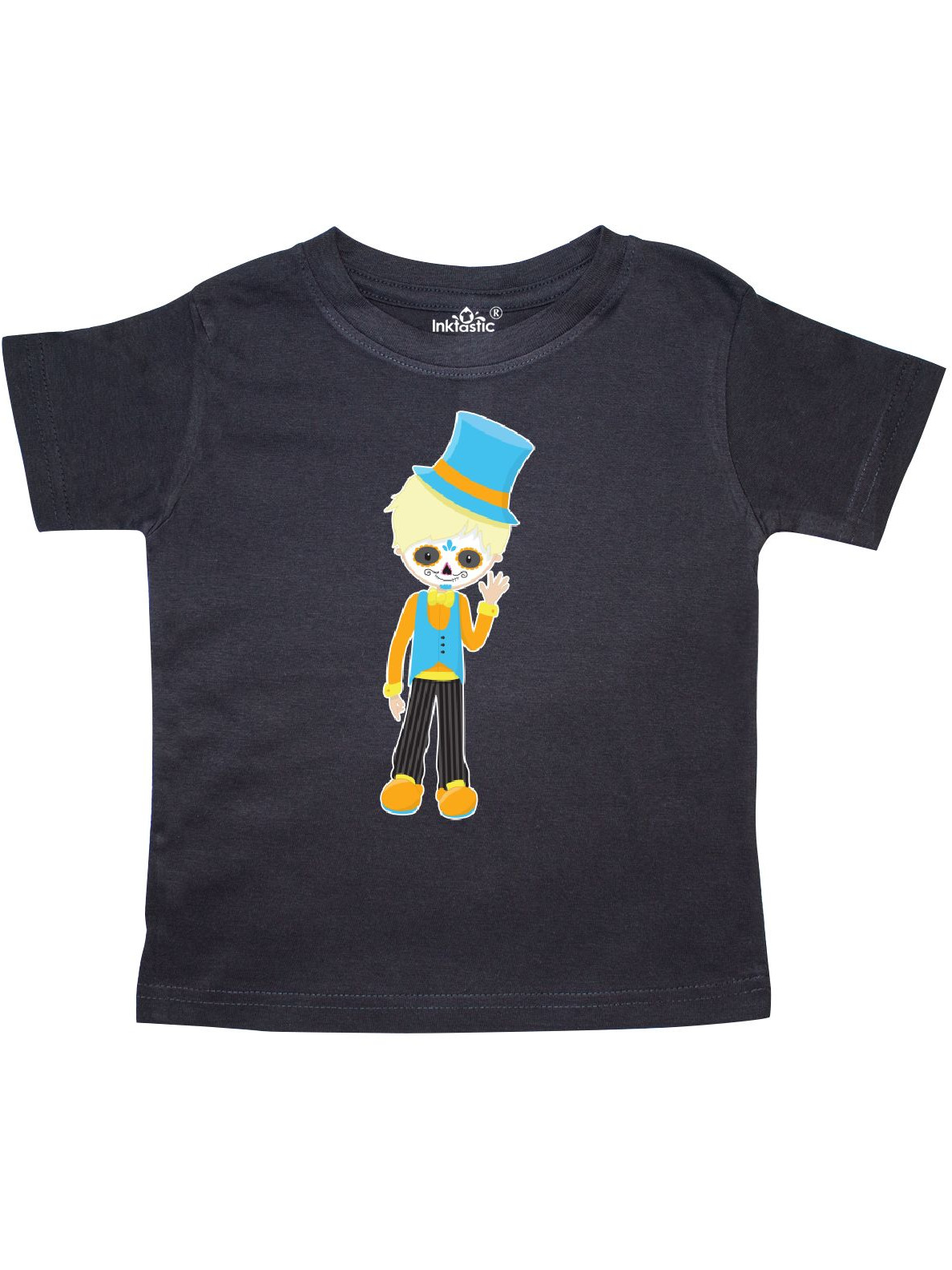 Dia de los Muertos blond boy Toddler T-Shirt