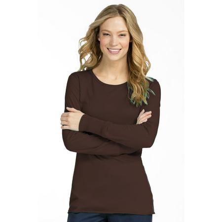 14d3a919c57 Med Couture - Med Couture Women's 4859 Long Sleeve Underscrub Tee Shirt -  Walmart.com